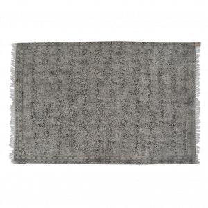Kelim Kleed (L) - Zwart / Grijs
