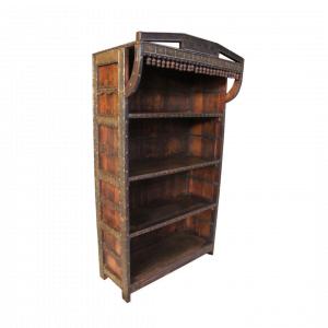 Vintage boekenkast (exclusief item 15)