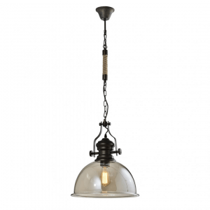 Industriële Hanglamp Tobias - Cognac