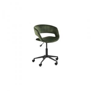 Bureaustoel Greek - Velvet - Groen