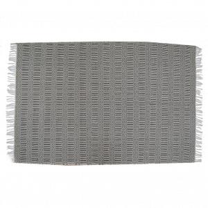 Kelim Kleed (L) - Zwart / Wit