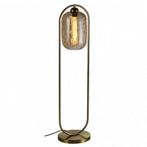 Vloerlamp Tess – Goud / Cognac