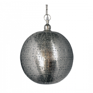 Oosterse Hanglamp Lina (L) - Zilver