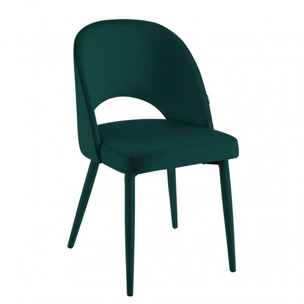 Eetkamerstoel Calerno - Velvet - Groen