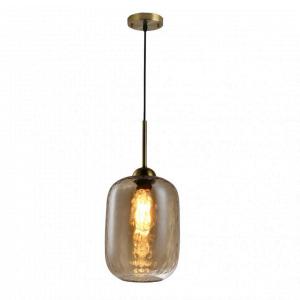 Hanglamp Tess – Goud / Cognac