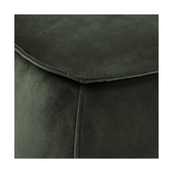 Poef Mir - Velvet - Groen - Vierkant 60cm