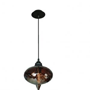 Oosterse Hanglamp (S) - Cognac - Bol