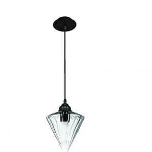 Oosterse Hanglamp (S) – Blank – Kegel