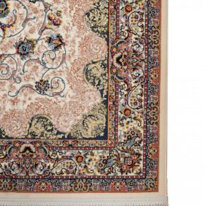 Perzisch Tapijt - Machinaal Geknoopt - Wol - Bloemenmotief