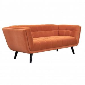 3-zitsbank Oxford - Velvet - Oranje