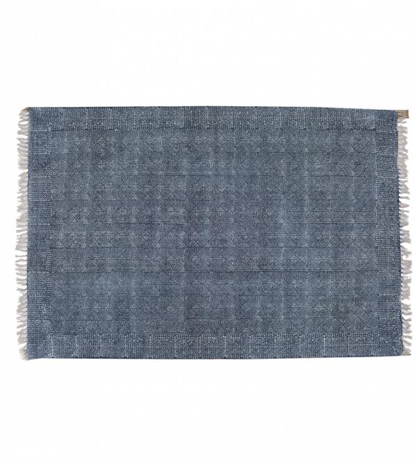 Kelim blauw-wit (medium)