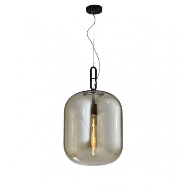 Industriële Hanglamp Thorben (XL) – Cognac / Zwart