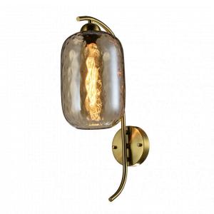 Wandlamp Tess – Goud / Cognac