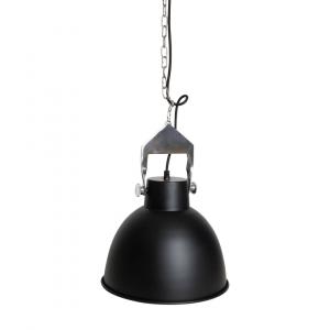 Industriële hanglamp Han (S) - Zwart - Metaal
