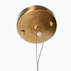 Industriële XL-hanglamp Thorben – Cognac / KoperKoper