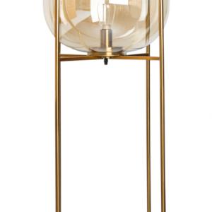 Industriële XL-Vloerlamp Thorben – Cognac / Koper