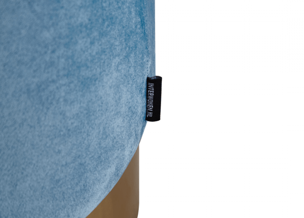 Poef Jenus – Velvet – Lichtblauw 40cm