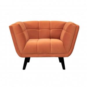 1-Zitsbank Oxford – Velvet – Oranje